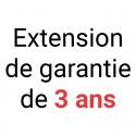 Extension de 3 ans de garantie